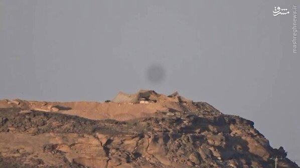 انهدام زرهی های ارتش آل سعود در نجران+تصاویر