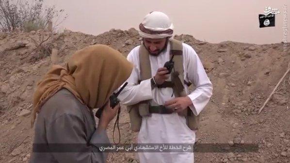 انتحاری تبعه مصری در دیرالزور سوریه+تصاویر