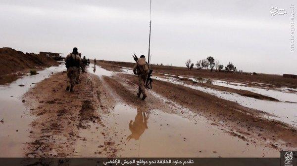 ادامه درگیریها در غرب سامرا+تصاویر