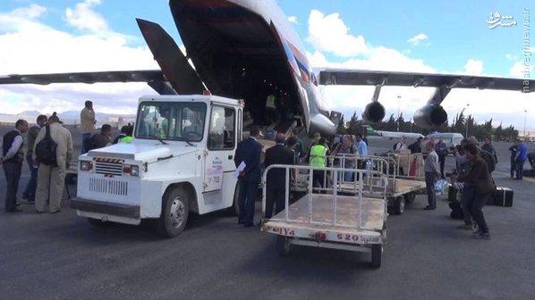 عجز آل سعود از ممانعت از ورود هواپیمای باری روسی به صنعا+تصاویر