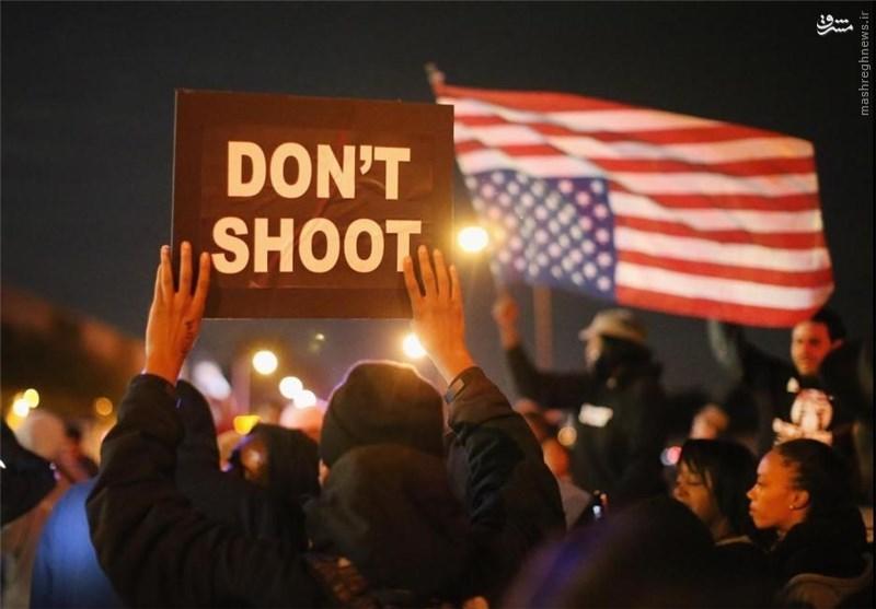 پلیس مردمکش آمریکا همچنان میتازد /// ماشین مردمکشی آمریکا، در پوست و لباس مجری قانون ///