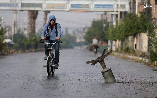 عکس/ یک روز عادی در سوریه