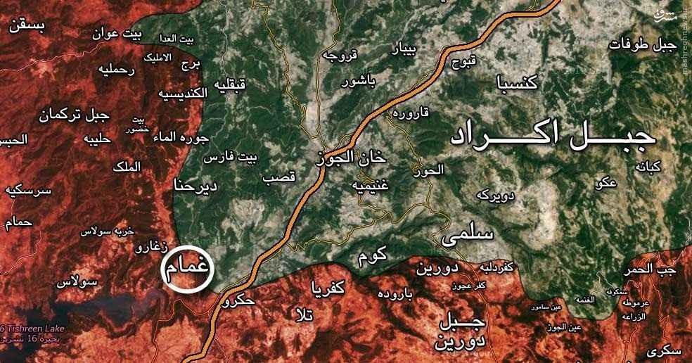 ارتش سوریه در یک قدمی اتوبان حلب - دمشق/تنگ تر شدن حلقه محاصره دژ القاعده در جنوب حلب/ارتش آزاد مذاکره با روسها را تکذیب کرد/تصرف غمام توسط ارتش سوریه/عملیات اکراد سوریه در حسکه