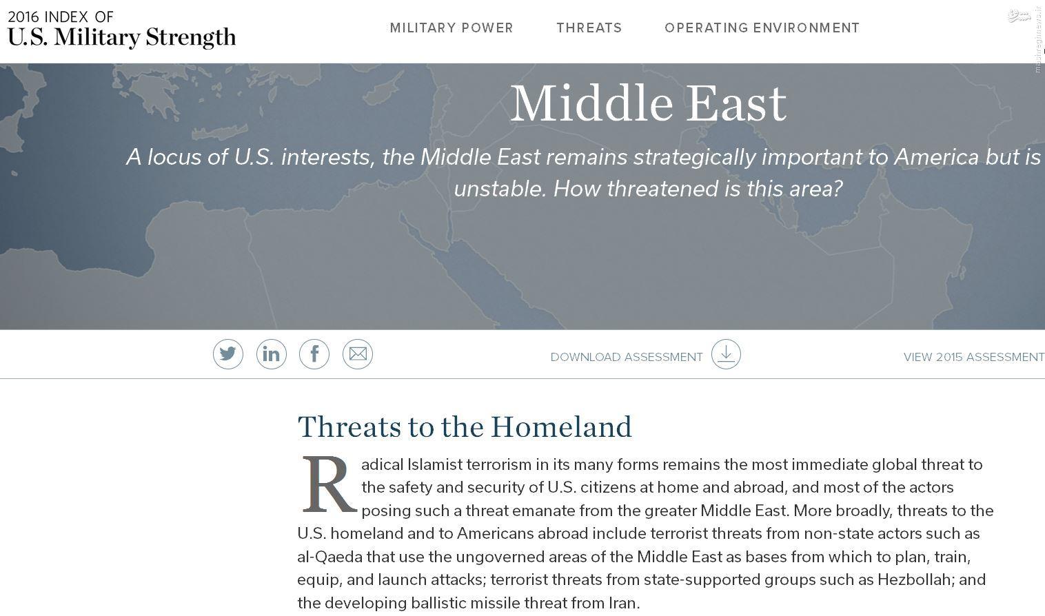 ایران پسا توافق خطر بزرگی برای آمریکا است / توافق هستهای راه تبدیل شدن ایران به قدرت منطقه را باز کرد // در حال ویرایش