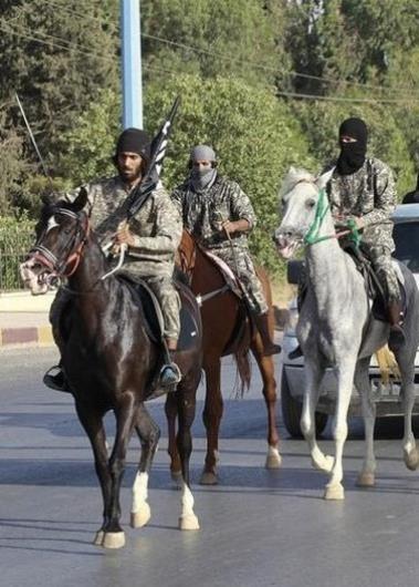 اسب و الاغ فرشته نجات داعشیها شدند! +عکس