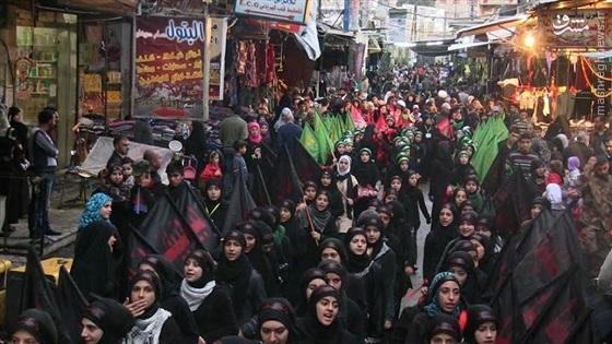 عزاداری روز عاشوراء در دمشق