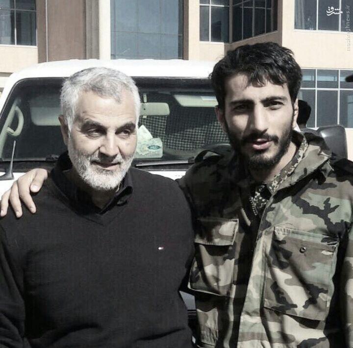 شهادت ایرانی مدافع حرم در سوریه+تصاویر