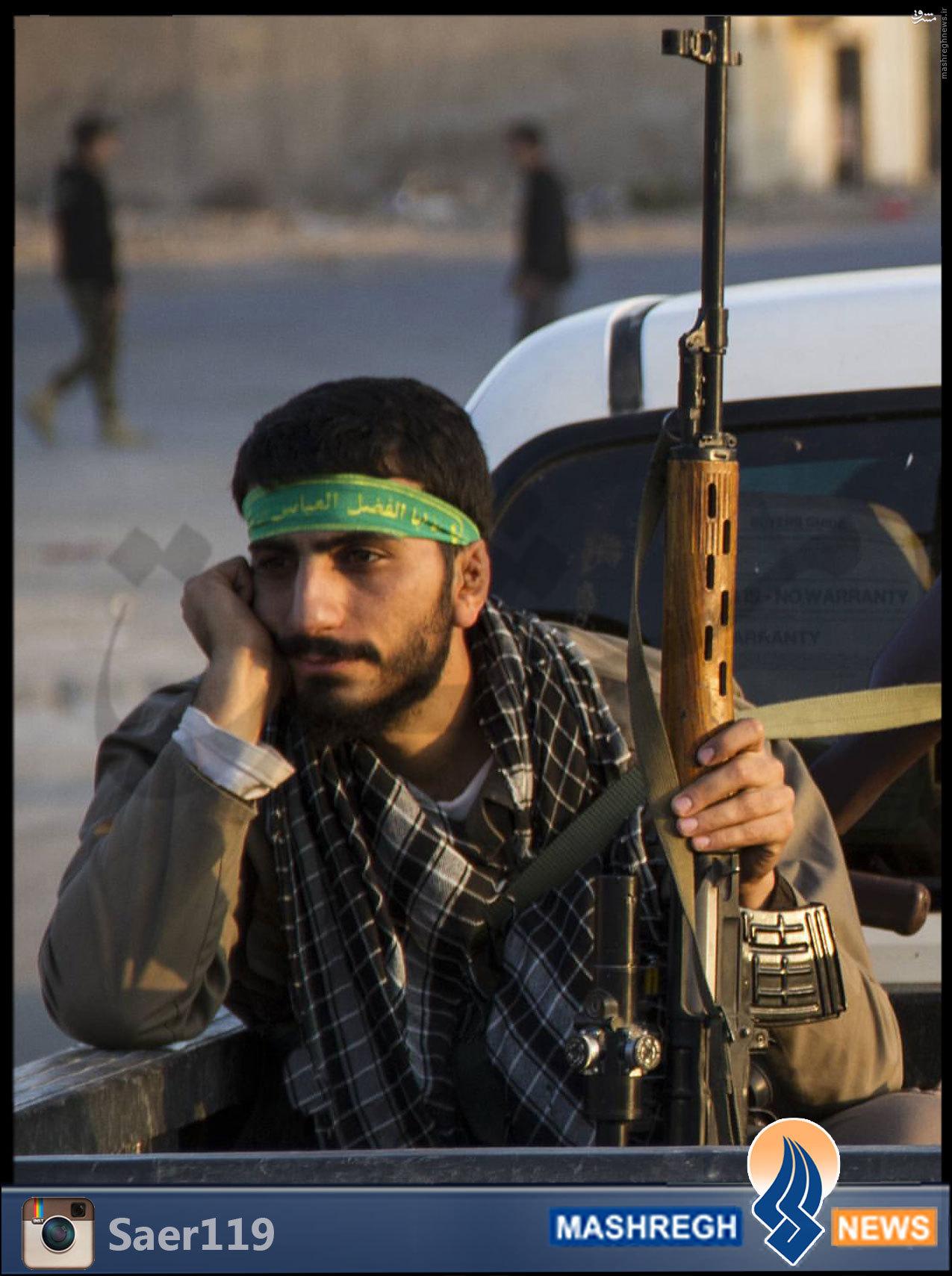 آخرین عکس و آخرین پیام شهید «مدافع حرم»