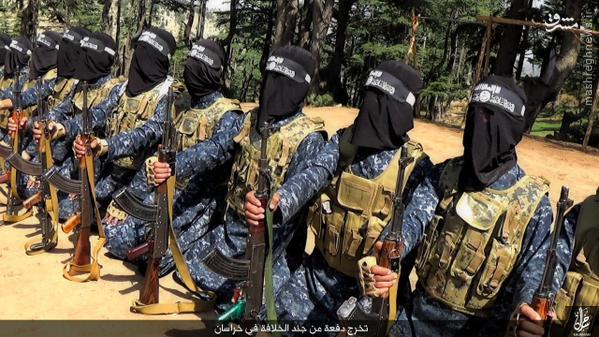 اردوگاه داعش در افغانستان+تصاویر