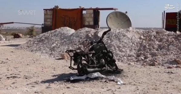 احرارالشام:پهپاد ساقط کردیم+تصاویر