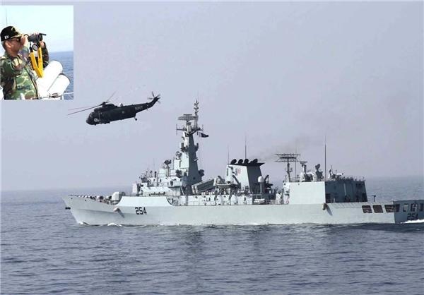مانور نیروی دریایی پاکستان در اقیانوس هند+عکس