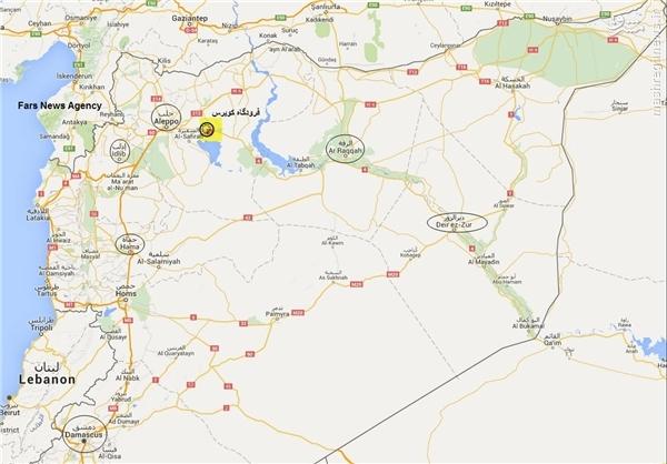 ۱۰۰ کیلومتر مربع از شرق حلب سوریه آزاد شد
