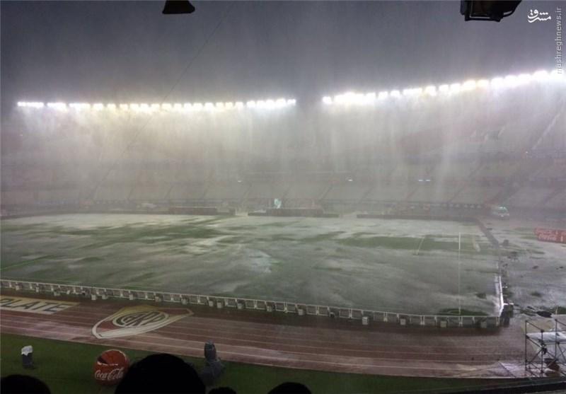 دیدار آرژانتین و برزیل به تعویق افتاد +عکس