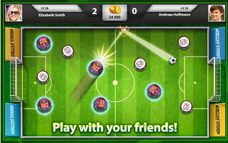 بازی برای موبایل فوتبال