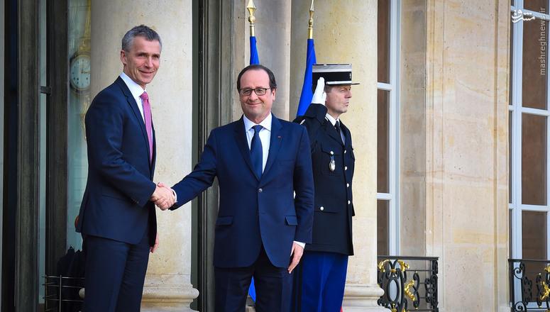 فاجعه پاریس، مقدمهای برای حمله نظامی ناتو به سوریه است