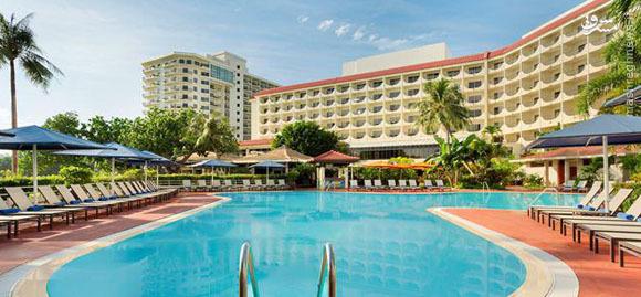 هزینه میلیونی یک شب اقامت در هتل تیم ملی در گوام +عکس