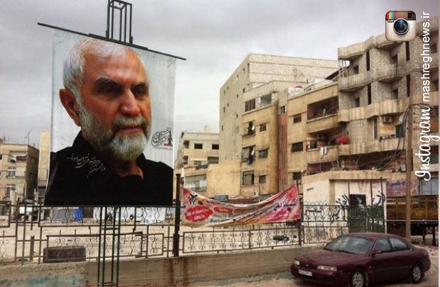یاد حبیب سپاه در زینبیه زنده است +عکس