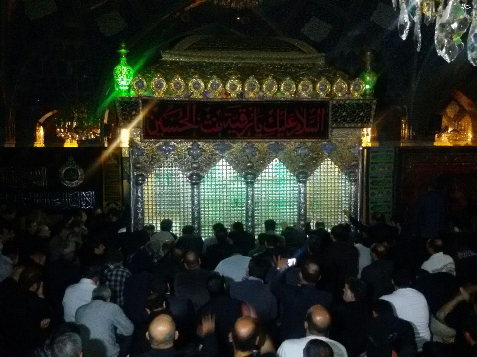 عزاداری شهادت حضرت رقیه (س) در دمشق+تصاویر