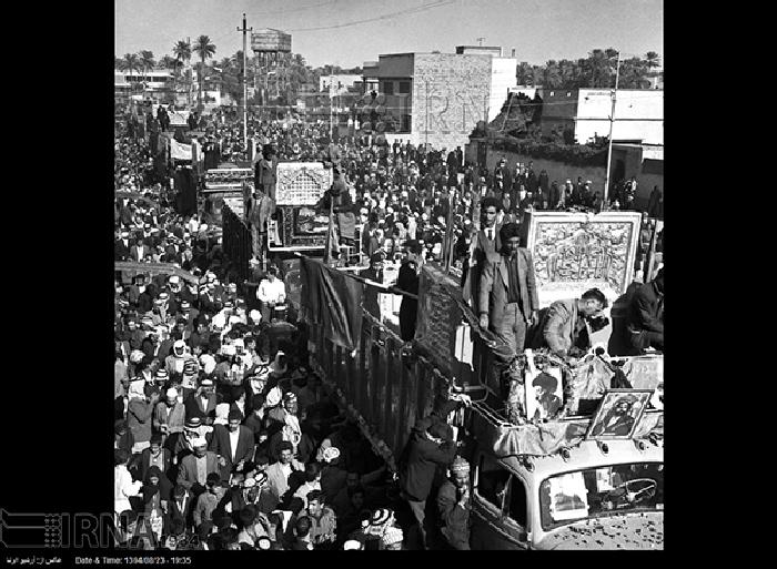 کربلا فوری از اصفهان عکس/ انتقال ضریح حضرت عباس(ع) از اصفهان تا کربلا - مشرق نیوز