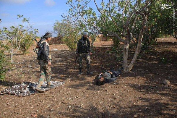 تلفات سنگین داعش در نبرد با ارتش سوریه+تصاویر