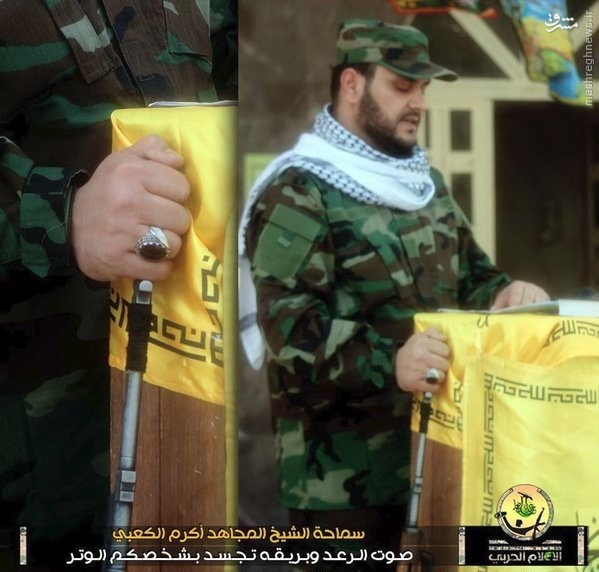 نماز جماعت رزمندگان در دژ القاعده در جنوب حلب+تصاویر