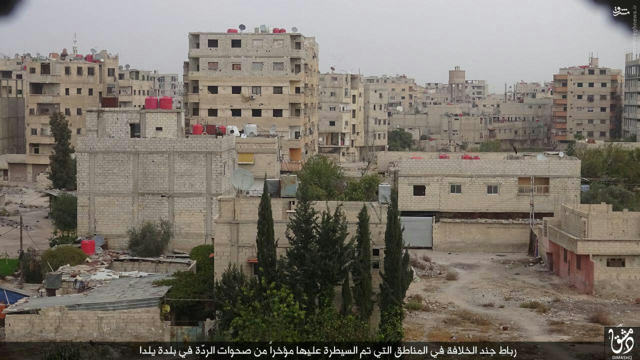 بمباران تانکر های ترکیه حضور داعش در جنوب دمشق+تصاویر - مشرق نیوز