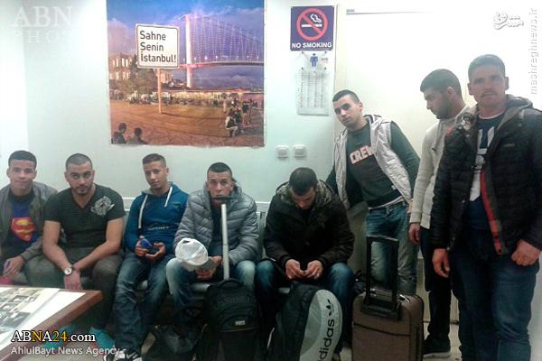 دستگیری 8 مظنون به همکاری با داعش در ترکیه+عکس