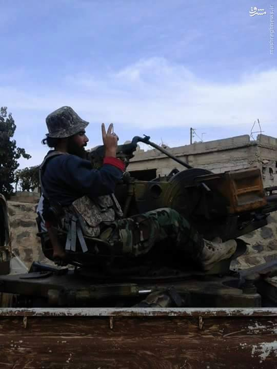هلاکت فرمانده ارتش آزاد در شیخ مسکین+تصاویر