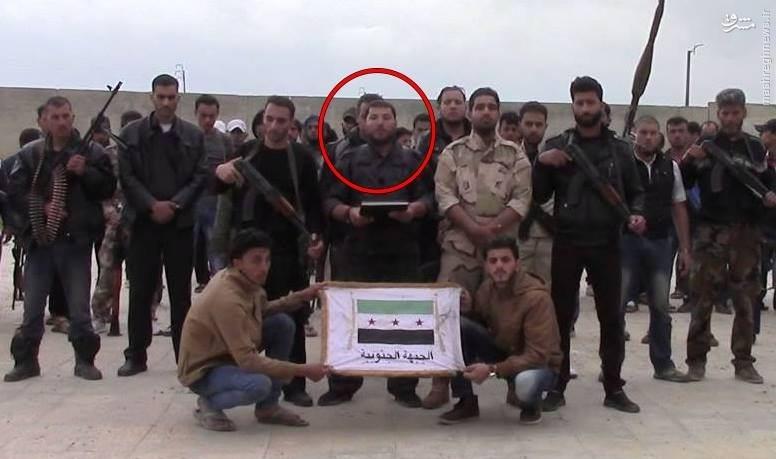 هلاکت فرمانده ارشد ارتش آزاد در درعا+تصاویر