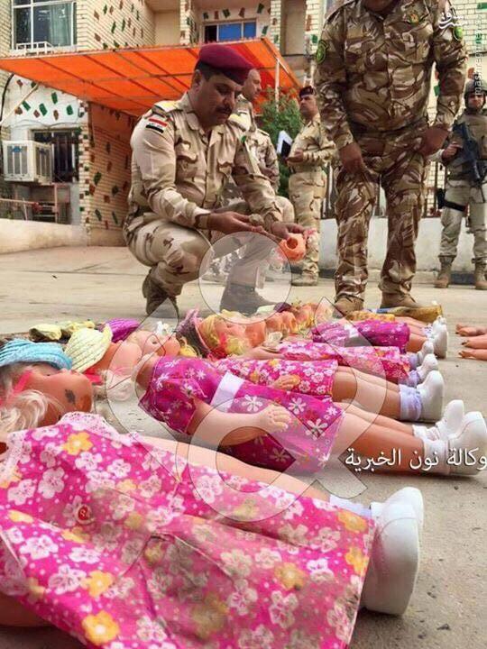 کشف محموله عروسکهای بمبگذاری شده در بغداد+تصاویر