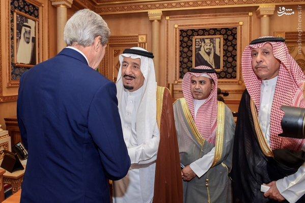 جزئیات دیدار کری و پادشاه عربستان