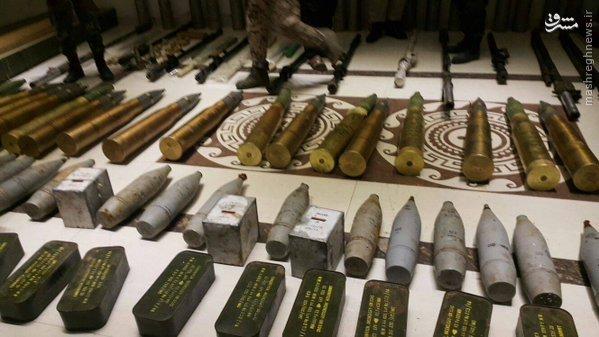 کشف محموله تسلیحات در سویداء+تصاویر