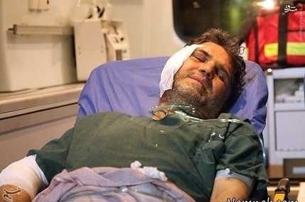 حضور دوباره خبرنگار مجروح صداوسیما در جبهه سوریه+ عکس