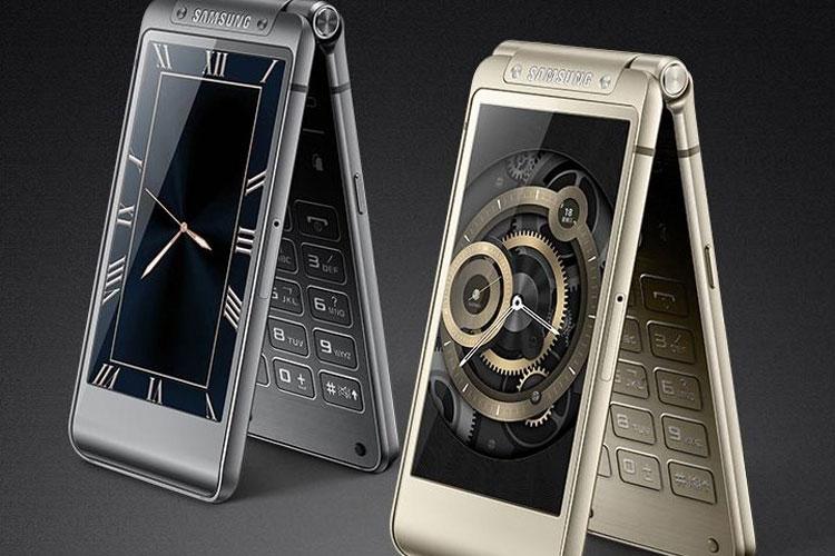 تلفن تاشو W2016 سامسونگ معرفی شد: دوربین ۱۶ مگاپیکسلی، پردازنده اکسینوس ۷۴۲۰ و سه گیگابایت رم