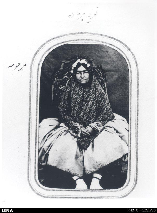 تعزیهخوانی زنان در دربار قاجار + عکس