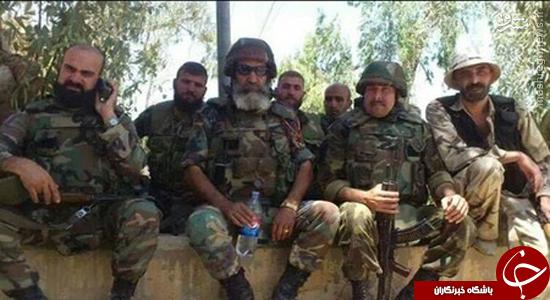 مرد افسانهای ارتش سوریه کیست؟ +عکس