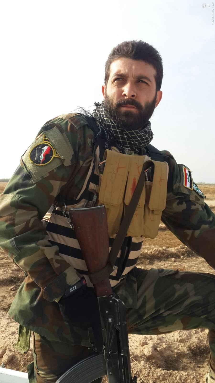 شهادت بسیجی مدافع حرم در عراق+تصویر