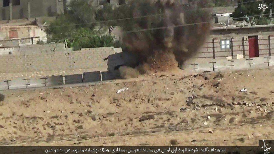 کمین خونین داعش در سینا+تصاویر
