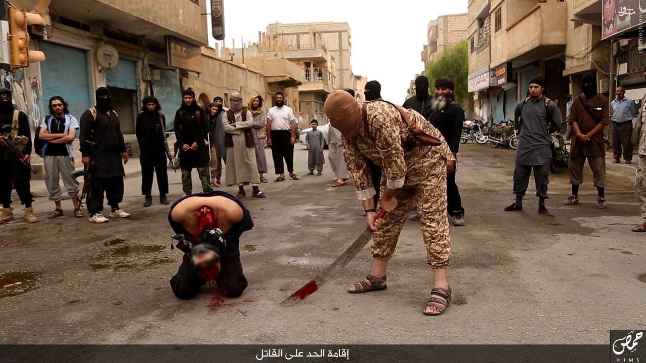 اعدام جوان سوری توسط داعش+تصاویر