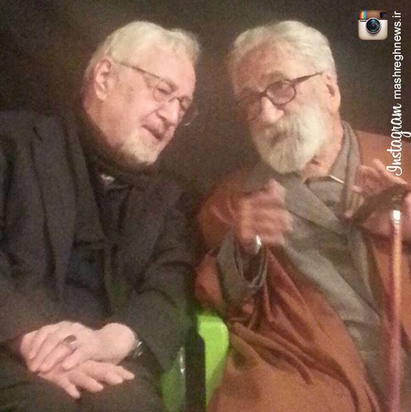 عکس/ ابراهیم یزدی روز عاشورا به مجلس فرقه صوفیه گنابادی رفت