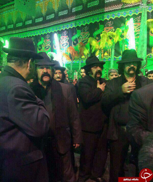 عکس/ هیئت داش مشتی ها در تهران