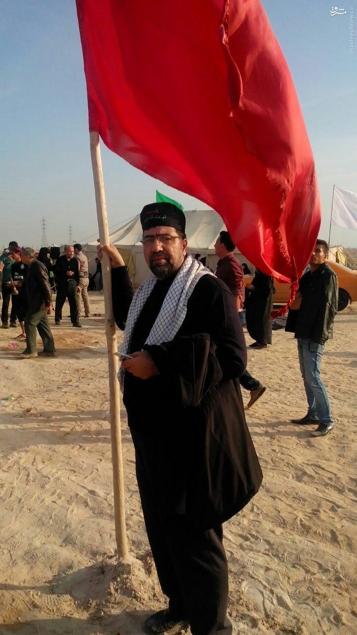 عکس/ رکن آبادی در پیاده روی اربعین