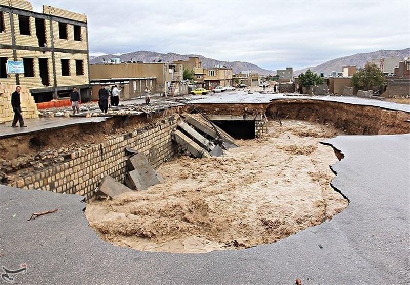 فرودگاه ایلام آخرین جزئیات از خسارات و آمار کشتههای سیلاب در ایلام ...