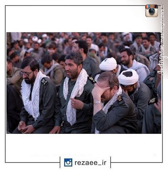 عکس/ سوال شهید کاظمی از فرمانده سپاه درمورد تجملگرایی