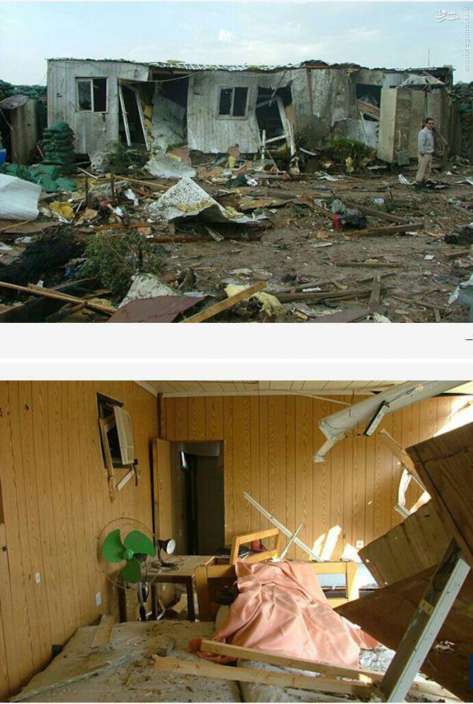 کمپ منهدم شده منافقین در عراق+تصاویر