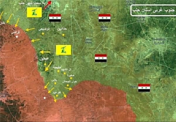 ورود ارتش سوریه به شهرک استراتژیک «خان طومان»+ نقشه