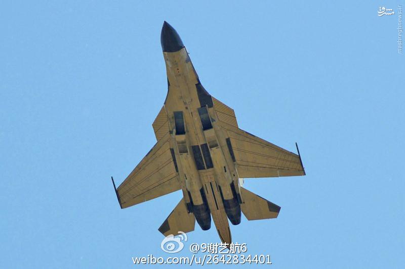 عکس/ آیا چین سوخو 34 را کپی کرد؟