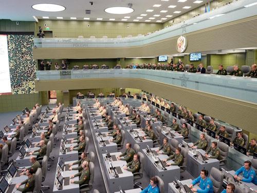 عکس/ اتاق جنگ مدرن ولادیمیر پوتین