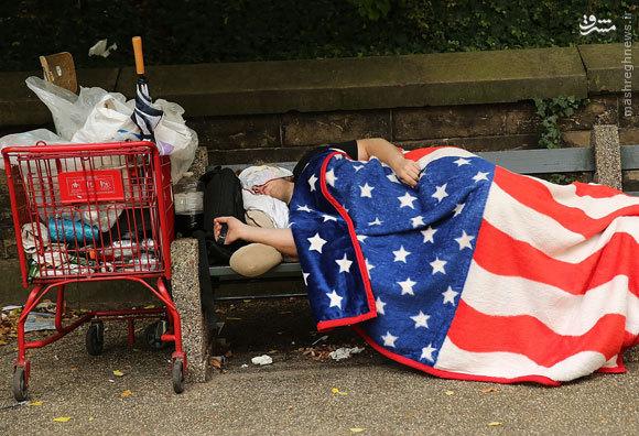 معضل بیخانمانی در آمریکا بیداد میکند