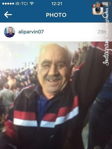 عکس/ هوادار جان باخته پرسپولیس در استادیوم